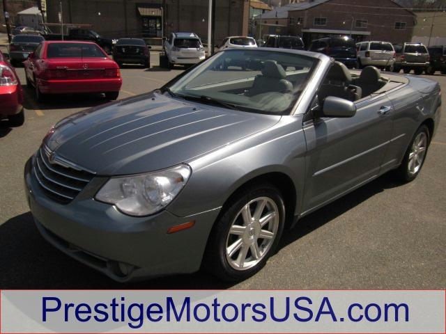 2008 CHRYSLER SEBRING LIMITED silver steel metallic - - - 2008 chrysler sebring 2dr conv limited f