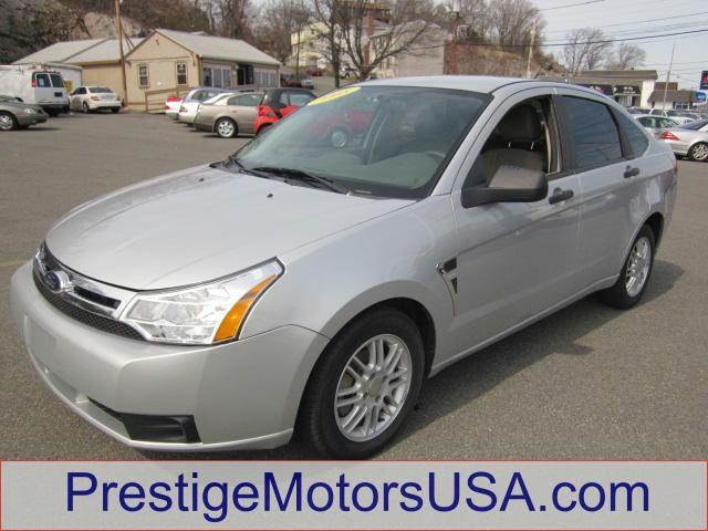 2008 FORD FOCUS SE silver frost metallic - - - 2008 ford focus 4dr sdn se  - power windows power 