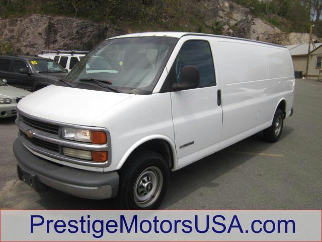 2002 CHEVROLET EXPRESS summit white - - - 2002 chevrolet express cargo van 2500 155 wb  - engine 
