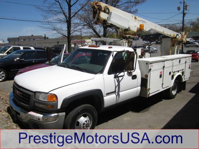 2006 GMC SIERRA 3500 WT summit white - - - 2006 gmc sierra 3500 reg cab 1615 wb849 ca 2wd wt 