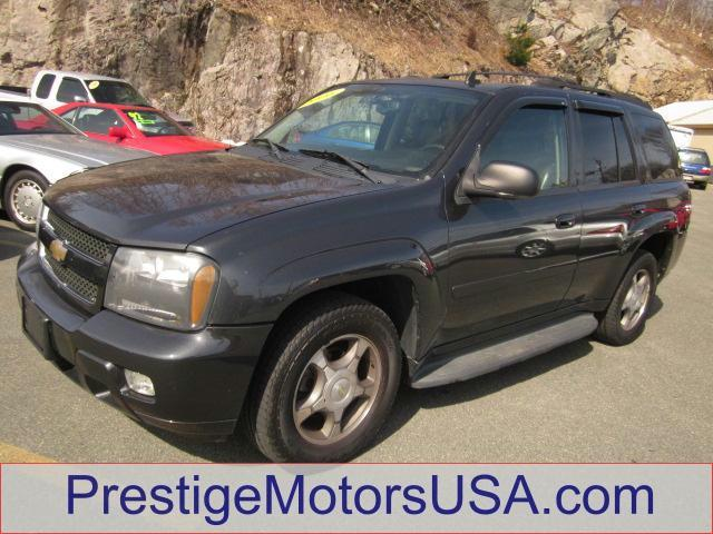 2006 CHEVROLET TRAILBLAZER LT dark gray metallic - - - 2006 chevrolet trailblazer 4dr 4wd lt  - po