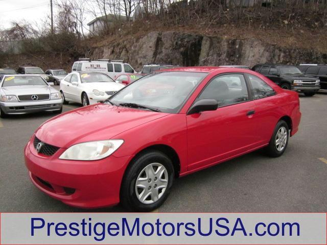 2004 HONDA CIVIC VP rallye red - - - 2004 honda civic 2dr cpe vp auto  - tilt wheel remote trunk