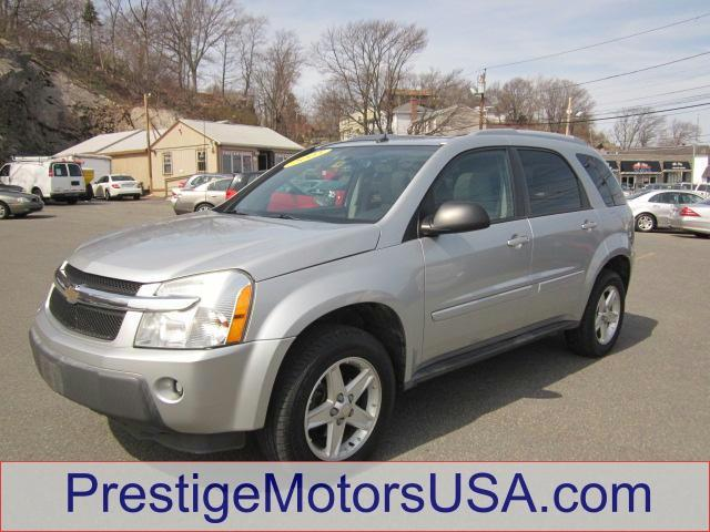 2005 CHEVROLET EQUINOX LT galaxy silver metallic - - - 2005 chevrolet equinox 4dr awd lt  - power