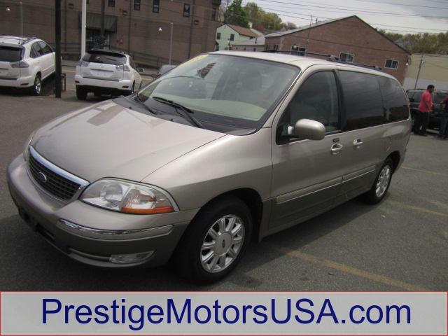2003 FORD WINDSTAR LTD light parchment gold met - - - 2003 ford windstar wagon 4dr ltd  - power wi