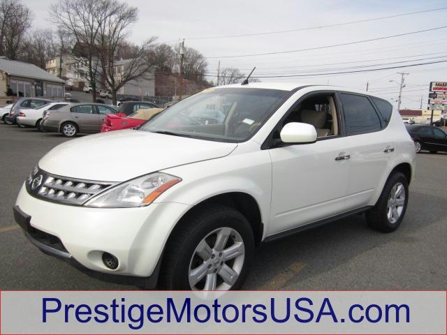 2006 NISSAN MURANO S glacier pearl - - - 2006 nissan murano 4dr s v6 awd  - power windows power d