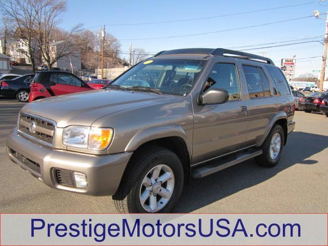 2004 NISSAN PATHFINDER SE polished pewter metallic - - - 2004 nissan pathfinder se 4wd  - power wi