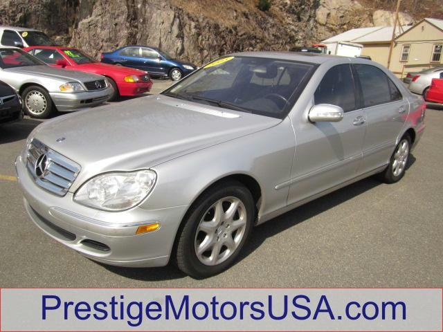 2005 MERCEDES-BENZ S-CLASS 43L brilliant silver metallic - - - 2005 mercedes-benz s-class 4dr sdn