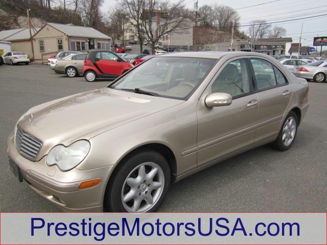 2003 MERCEDES-BENZ C-CLASS 32L desert silver metallic - - - 2003 mercedes-benz c-class 4dr sdn 3