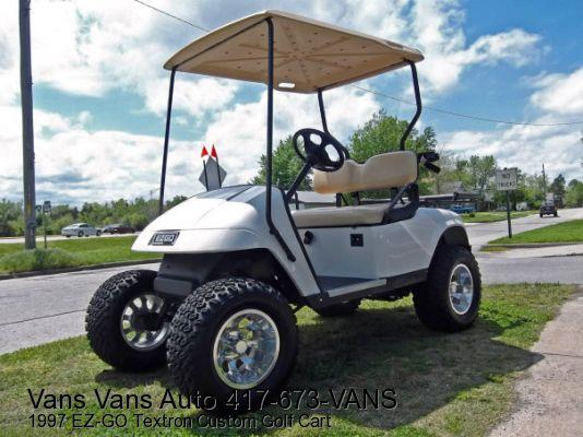 1997 EZ-GO Textron Custom Golf Cart