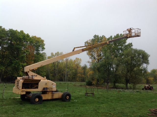 1990 JLG 60F Aerial Boom Lift - ROCHESTER NY