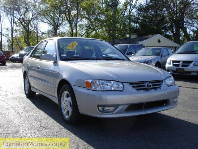 2002 Toyota Corolla S 61713 miles, Silver (STURTEVANT) $8944