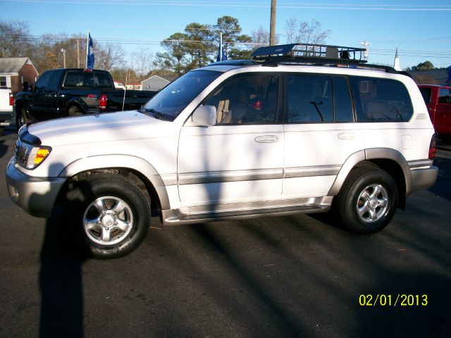 2001 Toyota LandCruiser
