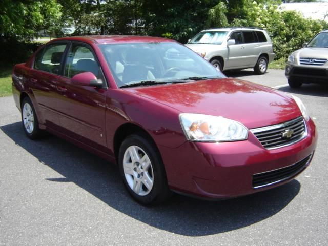 2007 Chevrolet Malibu (Statesville, NC) $9850 Burgundy