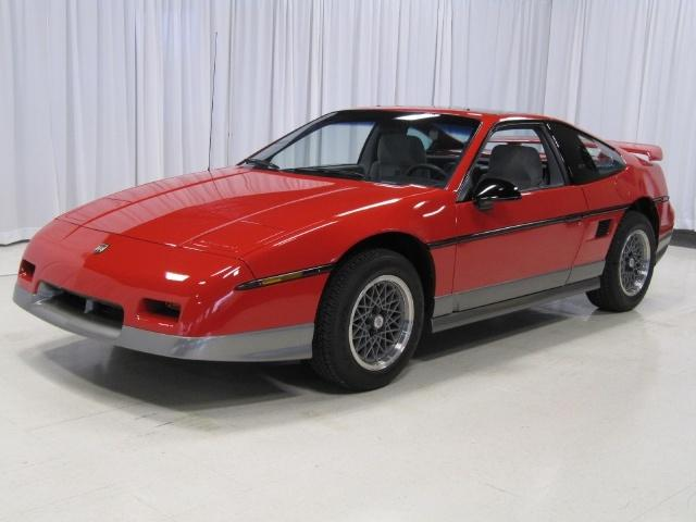 Pontiac Fiero For Sale. 1986 Pontiac Fiero for sale