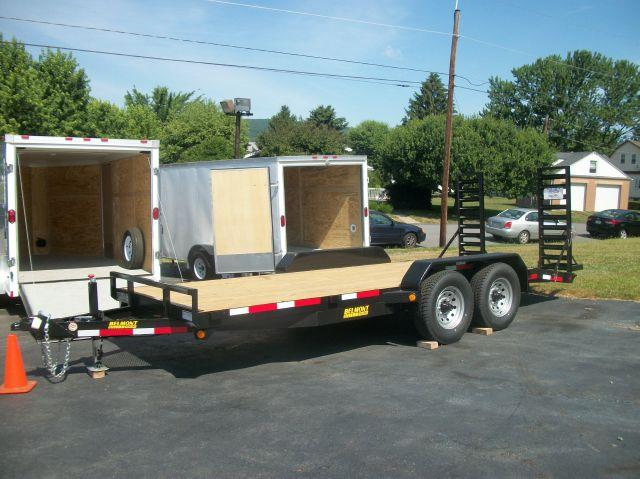 2012 Belmont 8x18 Equip Hauler Heavy Duty 12K - Old Forge PA