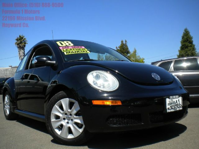 2008 VOLKSWAGEN NEW BEETLE S black power windows power door locks cruise control air conditioning