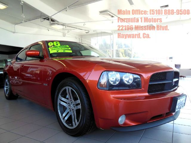 2006 DODGE CHARGER RT DAYTONA orange 57l v8 automatic hemi leather moon roof rt daytona seat
