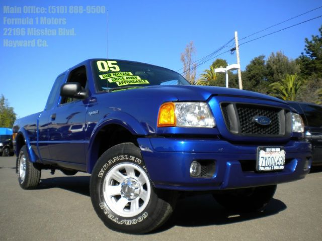 2005 FORD RANGER EDGE SUPERCAB 4-DOOR 2WD blue 40l v6 automatic 4 door spray-in bed liner abs