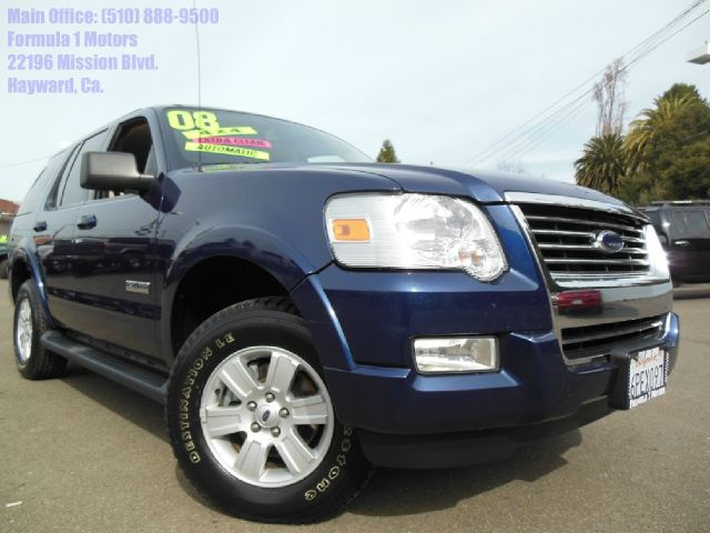 2008 FORD EXPLORER XLT 40L 4WD blue 40l v6 automatic 4x4 luggage rack fog lamps 3rd row seat