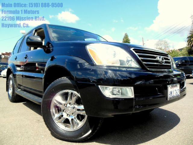 2003 LEXUS GX 470 SPORT UTILITY black 47l v8 automatic leather moon roof running boards sport