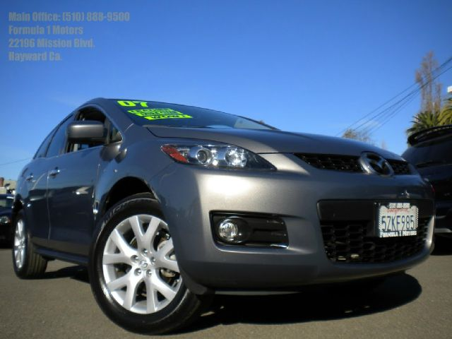 2007 MAZDA CX-7 GRAND TOURING gray navigation moon roof leather abs brakesair conditioningallo