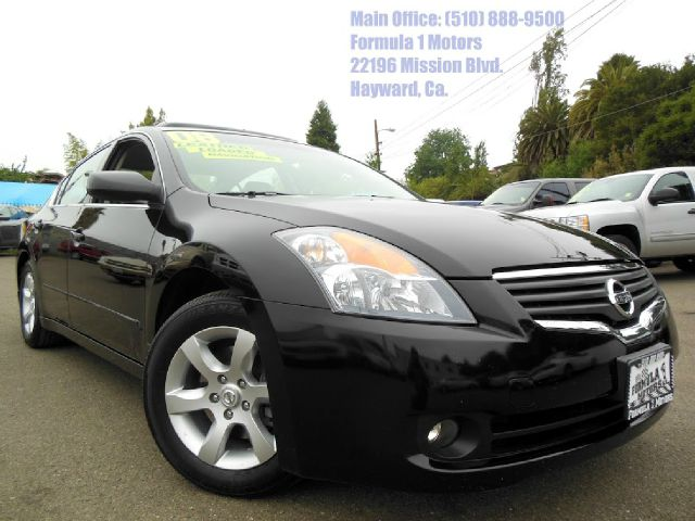 2008 NISSAN ALTIMA 25 SL-NAVIGATION-LEATHER black 25l 16v automatic leather moon roof naviga