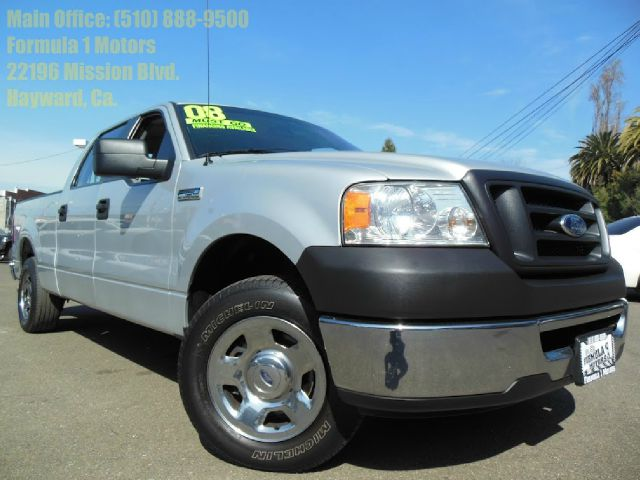 2008 FORD F150 XLT silver v8 xlt  automatic spray-in bed liner 4door 2 wheel drive4 doorair