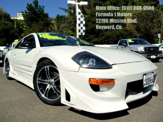 2002 MITSUBISHI ECLIPSE GT pearl white 30l v6 manual moon roof navigation injen cold air intak