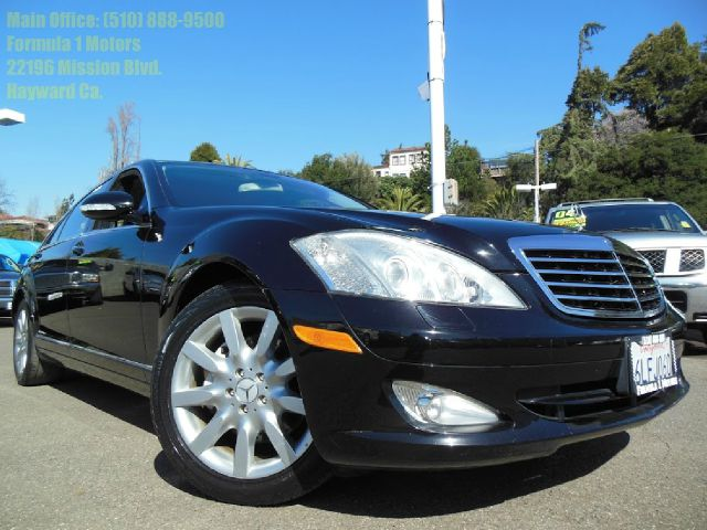 2007 MERCEDES-BENZ S-CLASS S550 black 55l v8 32v automatic navigation moon roof leather heate
