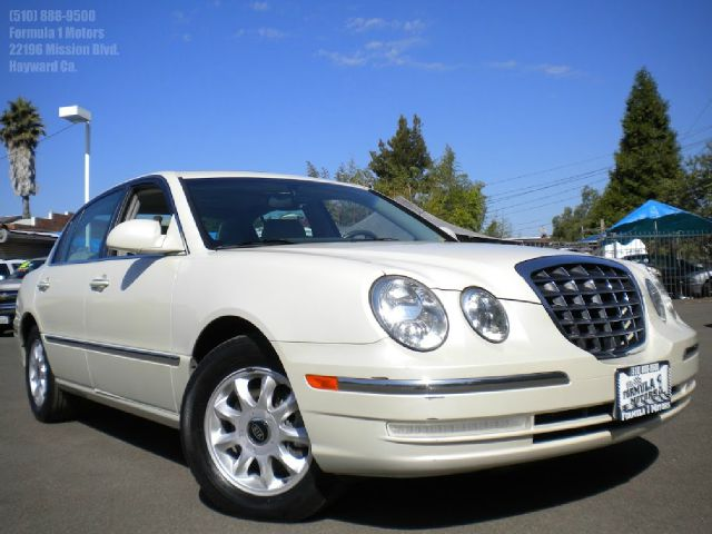 2005 KIA AMANTI pearl white automatic transmission leather seats sunmoon roof heated seats inform