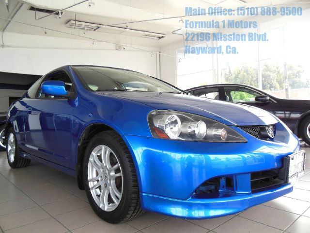 2005 ACURA RSX COUPE WITH 5-SPEED AT blue 20l 16v semi-automatic transmission moon roof aem co