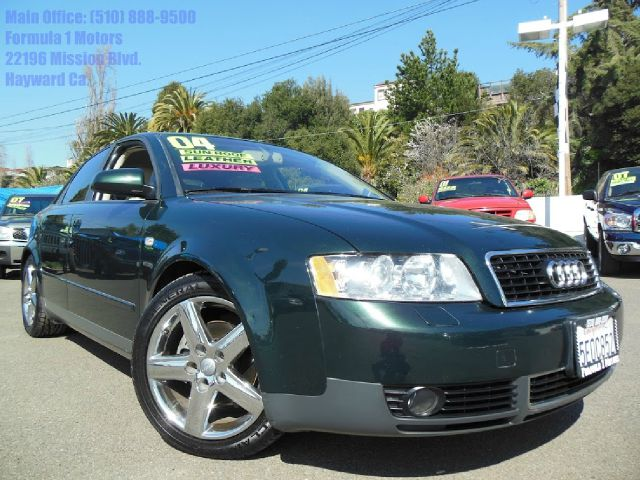 2004 AUDI A4 18T green 18l turbo automatic moon roof fog lamps leather seats 2 wheel drive2n