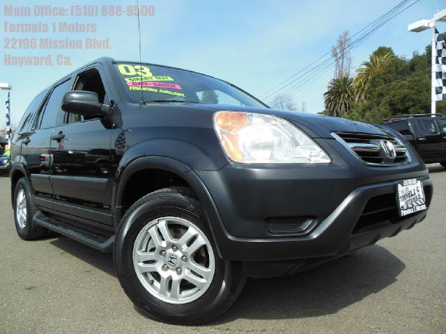 2003 HONDA CR-V EX 4WD 4-SPD AT black 24l 16v automatic moon roof 4wdawdabs brakesair condi