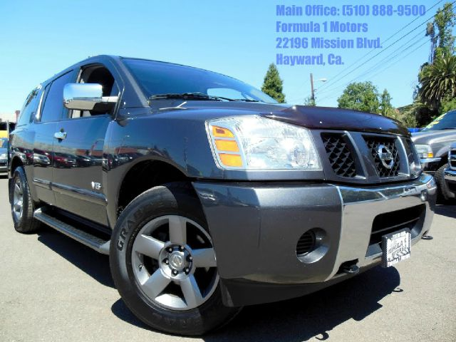2005 NISSAN ARMADA SE 4WD gray 56l v8 automatic se automatic 4x4 3rd row seating dvd 3rd r