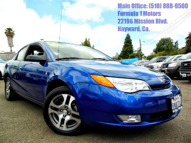 2005 SATURN ION QUAD COUPE 3 blue 22l 16v automatic moon roof quad coupe 2 wheel drive4 door