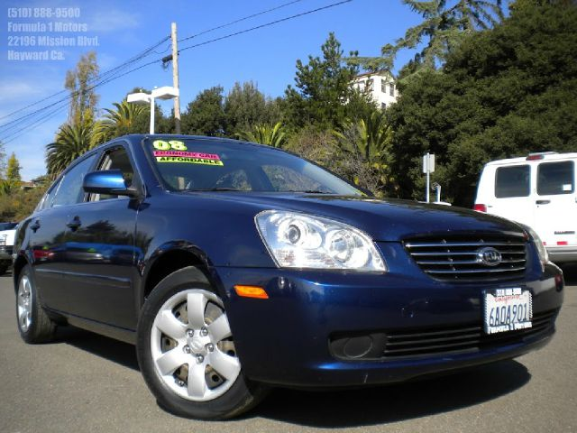 2008 KIA OPTIMA LX blue automatic transmission very clean car 2 wheel drive4 dooralarmalloy wh