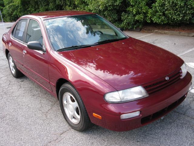 1997 nissan altima gxe burgundy lilburn 3695 burgundy s2cars