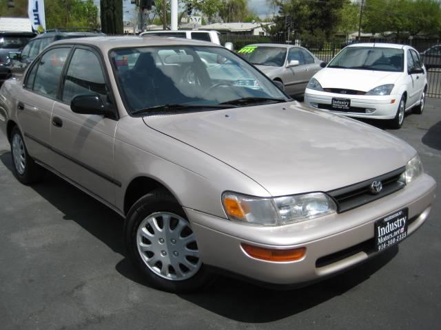 Mpg Toyota Corolla >> 1995 Toyota Corolla DX - 121698 miles, SILVER (Sacramento ...