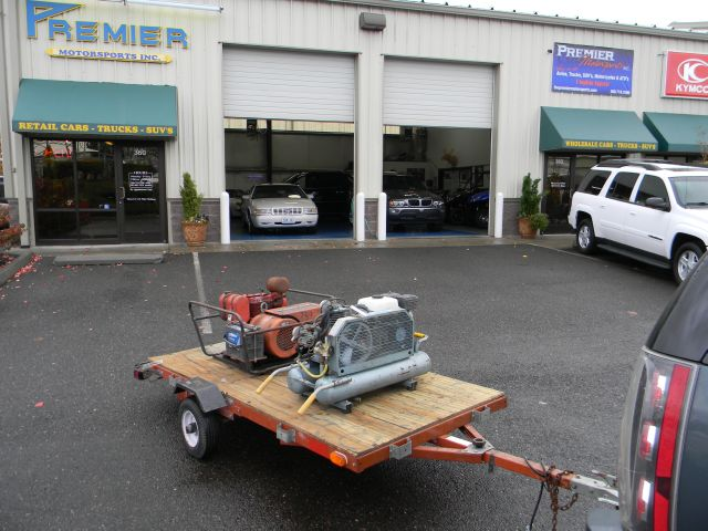 1998 LONG Utility Trailer Generator &amp; Compressor - VANCOUVER WA