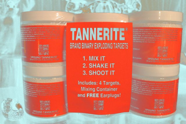 2014 TANNERITE EXPLODING TARGET MIXTURE