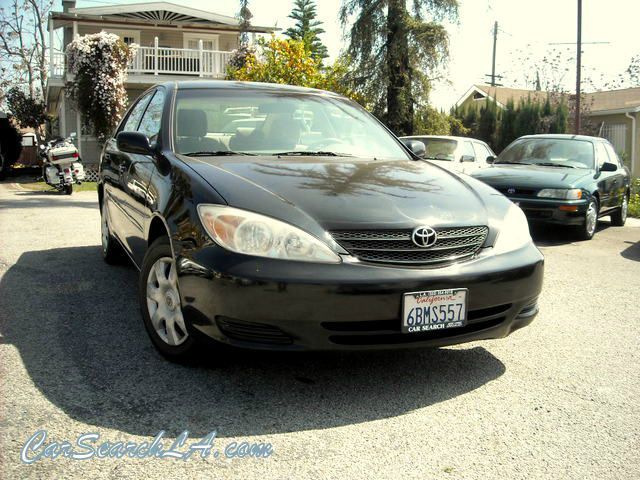 2004 TOYOTA CAMRY LE black clean title clean carfax  private party special 2004 toyota camry le