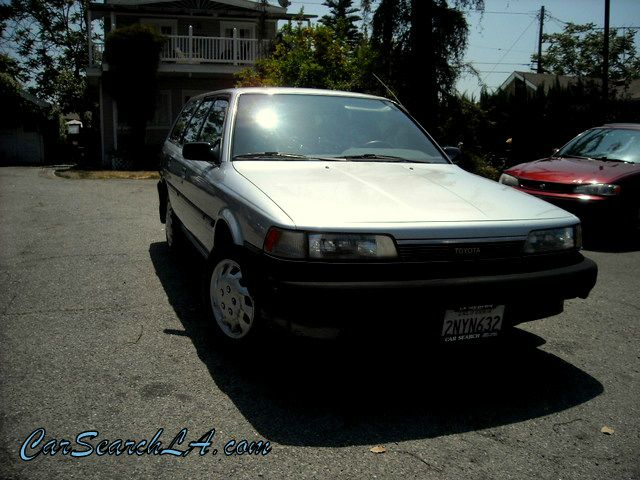 1989 TOYOTA CAMRY DLX gray private party special  1989 toyota camry wagon dx  rare find 4-door 