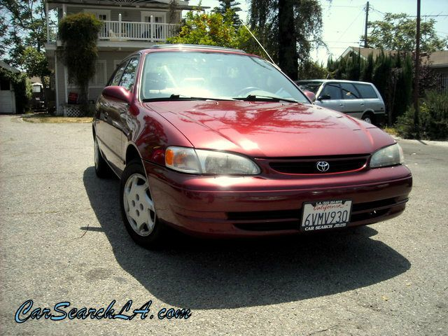 2000 TOYOTA COROLLA LE burgundy private party special 2000 toyota corolla le manual 5-speed tran