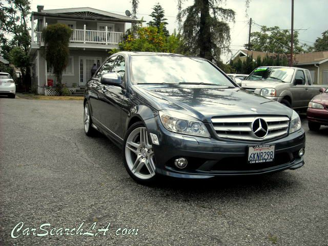 2008 MERCEDES-BENZ C-CLASS C300 SPORT SEDAN charcoal clean title no accidents carfax 1-owner  pr