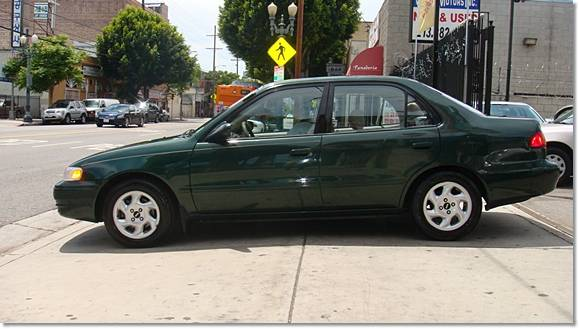2000 toyota corolla le 103446 miles green los angeles 5985 toyota lexus forum. Black Bedroom Furniture Sets. Home Design Ideas