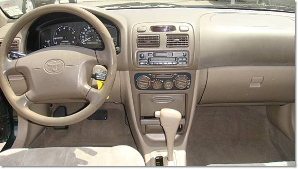 2000 Toyota Corolla Le 103446 Miles Green Los Angeles 5985 Toyota Lexus Forum
