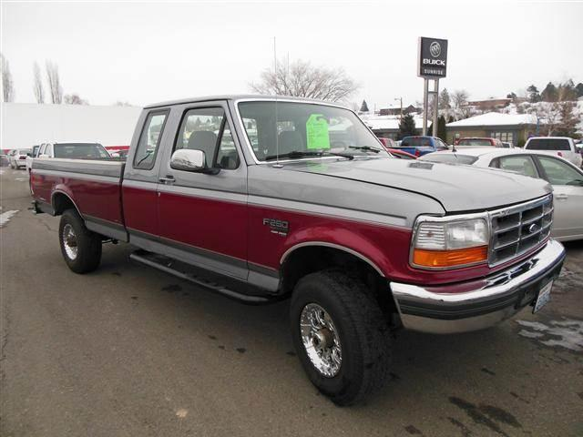 1995 Ford F250 Long Bed - OKANOGAN WA