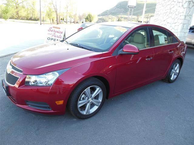 2013 Chevrolet Cruze LT Sedan 4D - OKANOGAN WA