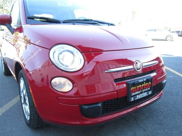 2012 Fiat 500 Pop Hatchback 2D - OKANOGAN WA
