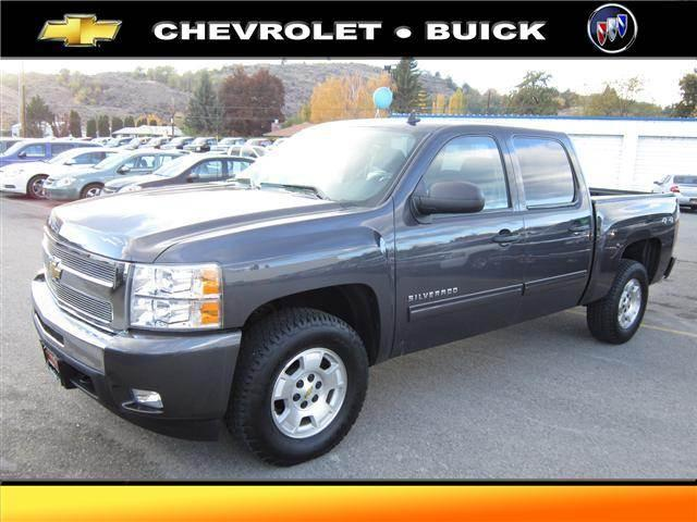 2011 Chevrolet Silverado 1500 4WD Crew Cab 143.5 LT - OKANOGAN WA
